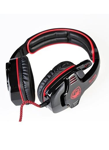 SA901 7.1 Surround Ses Oyucu Kulaklıgı Siyah Kırmızı-Platoon